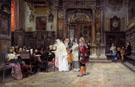 The Wedding Day 1889 - Jose Gallego Y Arnosa