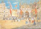 St Marks Venice 1898 - Maurice Brazil Prendergast