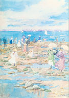 Summer Visitors 1896 - Maurice Brazil Prendergast