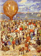 The Balloon 1898 - Maurice Brazil Prendergast