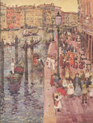 The Grand Canal Venice c1898 - Maurice Brazil Prendergast
