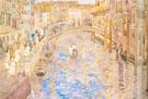Venetian Canal Scene c1898 - Maurice Brazil Prendergast