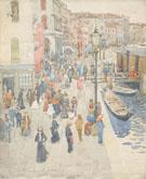 Venice c1898 - Maurice Brazil Prendergast