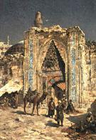 At The City Wall 1888 - Rudolph Gustav Miller