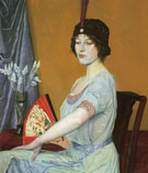 The Japanese Fan - William Strang
