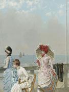 Mezzogorno Al Mare 1884 - Vittori Matteo Corcos