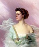 Portrait of A Lady 1911 - Vittori Matteo Corcos