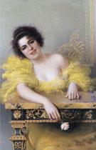 Portrait of A Young Woman 1896 - Vittori Matteo Corcos