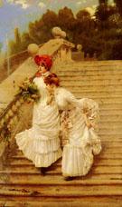The Rendezvous 1888 - Vittori Matteo Corcos