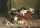 A Proud Mother 1918 - Charles Van Den Eycken