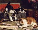 Mischief 1900 - Charles Van Den Eycken