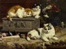 Up To No Good 1892 - Charles Van Den Eycken