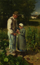 In The Fields 1882 - Edward Stott