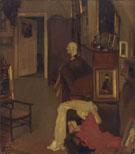 Im Atelier 1919 - Hans Looschen