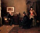 The Afternoon Visitors 1889 - Hans Looschen