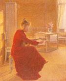 Interior Villa Akleja 1903 - Johan Axel Gustaf Acke