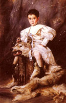 A Portrait of Kaiser Karl Archduke of Austria 1873 - Joseph Arpad Koppay