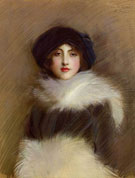 Mademoiselle Vaughan c1905 - Paul Cesar Helleu