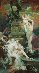 La Fontaine De Jouvence - Paul Jean Gervais