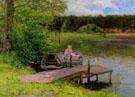 Sommertag Bei Hundekehle Grunewald 1896 - Richard Hermann Eschke