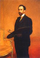 Autoportrait 1898 - Teodor Axentowicz