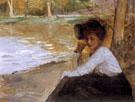 Dama W Parku 1899 - Teodor Axentowicz