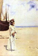Nad Morzem 1883 - Teodor Axentowicz
