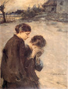 Nieszczescie 1917 - Teodor Axentowicz