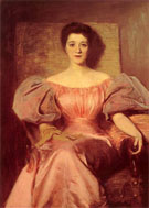 Portret Zony 1894 - Teodor Axentowicz