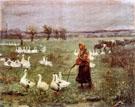 The Goose Girl 1883 - Teodor Axentowicz