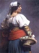 Wloska Kwiaciarka 1882 - Teodor Axentowicz