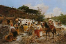 Lavanderas Washerwomen - Vicente March Y Marco