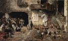 The Saltimbanque Valencia 1883 - Vicente March Y Marco