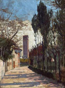Mestre Near Venice - William Logsdail
