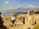 The Greek Theatre Taormina Sicily - William Logsdail