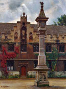 View of The Front Quad - William Logsdail