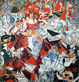 Dynamic Hieroglyphic of the Bal Tabarin (Valse or Waltz) - Gino Severini