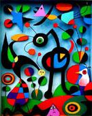The Garden 1925 - Joan Miro