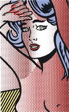 Nude with Blue Hair - Roy Lichtenstein