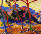 The Trees - Andre Derain