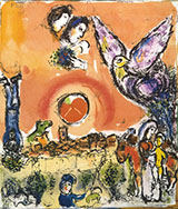 Sun over St. Paul de Vence - Marc Chagall