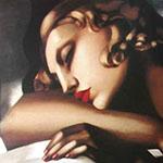 Dormeuse Detail - Tamara de Lempicka