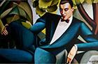 Portrait of Marquis d'Afflitto 1925 - Tamara de Lempicka