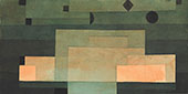 The Firmament Above the Temple 1922 - Paul Klee