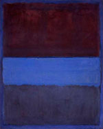 Rust and Blue 1953 - Mark Rothko