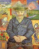 Portrait of Pere Tanguy - Vincent van Gogh