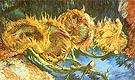 Four Cut Sunflowers 1887 - Vincent van Gogh