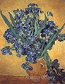 Vase with Irises Yellow - Vincent van Gogh