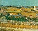 Harvest at La Crau - Vincent van Gogh