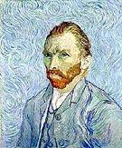 Self Portrait St Remy - Vincent van Gogh